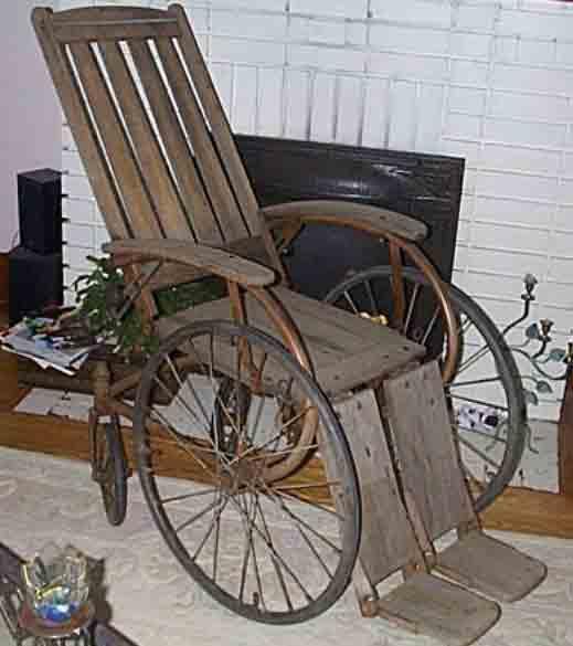 Antique Wheelchair - Antique Wheelchairs